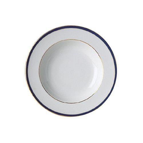Royal Doulton Oxford - Royal Doulton Oxford Blue 8-Inch Rim Soup