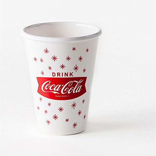 Coca Cola Dinner ((Set/4) Coca-Cola 1960 Art Melamine Reusable Paper Dinner Or Picnic Cups by One Hundred 80 Degrees)