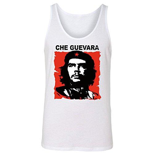 Zexpa Apparel Ernesto Che Guevara Poster Men's Tank Top Souvenir Shirts White XX-Large