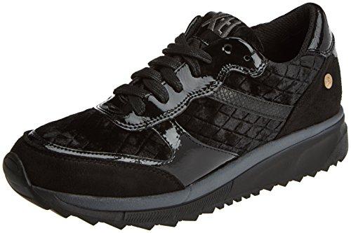 XTI Damen 047413 Low-Top Black (Schwarz)
