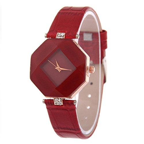 Auwer Watches, Women's Rhinestone Wristwatch Ladies Dress Watch Quartz Watch-Blue - Men Review Michael Kors For