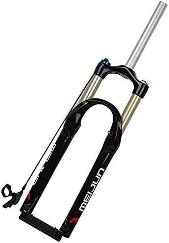 UDstrap Horquillas De Suspensión De Bicicleta 26, Horquilla De Suspensión De Bloqueo Rápido Remoto para Bicicleta De Montaña 100mm De Reserva Ajustable 1-1/8