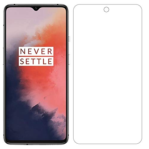 for OnePlus 7T Screen Protector Tempered Glass - [2 Pack] High Clear...