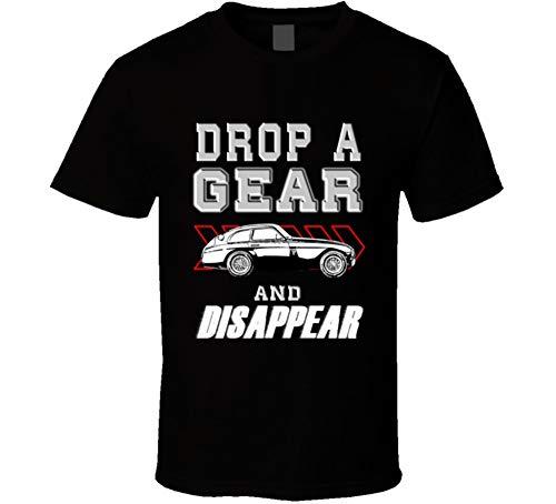 1951 Ferrari 212 Export Drop a Gear and Disappear Car Enthusiasts T Shirt XL Black