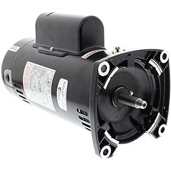 Sta rite square flange pool pump motor 1 5 for Sta rite motor replacement