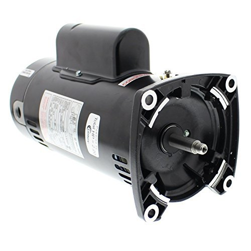 A. O. Smith SQ1152 1-1/2 HP, 1.47 Service Factor, 48Y Frame, Capacitor Start/Capacitor Run, ODP Enclosure, Square Flange Pool Motor - 48y Square Flange