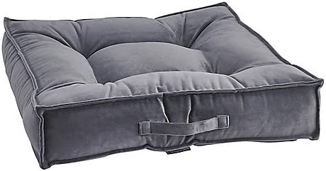 Bowsers Amethyst Microvelvet Piazza Dog Bed