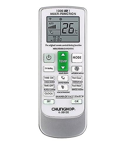 Amazon.com: AC Remote Replacet Universal AC Remote Control For ...
