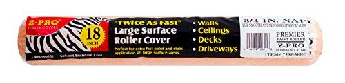Zebra 73618WEC Premier 18 x 1//2 Nap Roller Cover