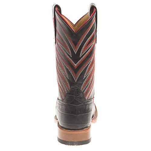 Anderson Bean Boys Kids Caiman Print Cowboy Boots 11 Black by Anderson Bean (Image #3)
