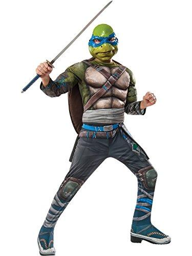 Ninja Turtles Costumes Girls (Rubie's TMNT Leonardo Deluxe Movie Costume)