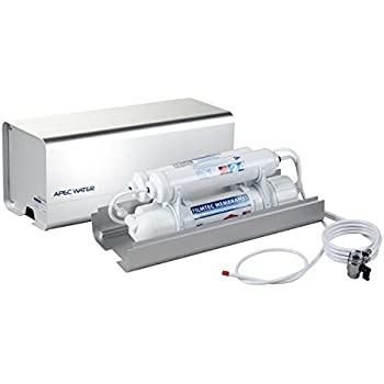 APEC Water Systems RO-CTOP Portable Countertop Reverse Osmosis Water Filter System, Installation-Free, fits Most Standard Faucet