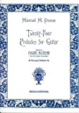 img - for Twenty-four preludes for guitar book / textbook / text book