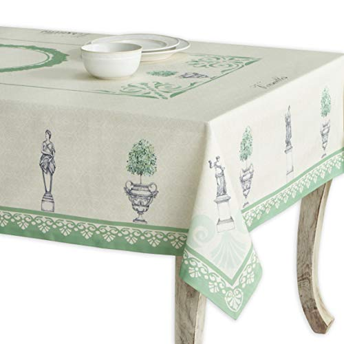 Maison d' Hermine Jardin du Roy 100% Cotton Tablecloth 54 - inch by 72 - inch. -