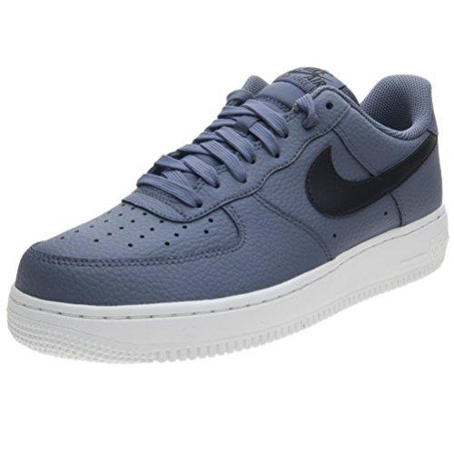 check out 32809 373d7 Galleon - NIKE Men s Air Force 1 Shoes,(Blue Black,12 D (M) US)