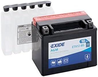 Exide - Batería ytx12-bs