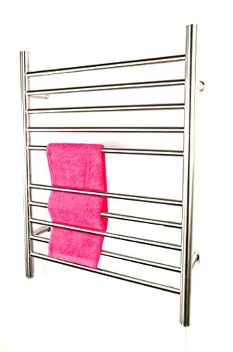 Amba RWP-SB Radiant Plug-In Straight Towel Warmer, Brushed