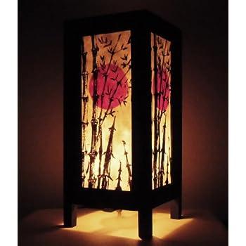 Thai vintage handmade asian oriental japanese bamboo trees for Handmade decorative items for bedroom