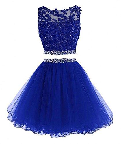 Blue 2 Prom Dress - 1