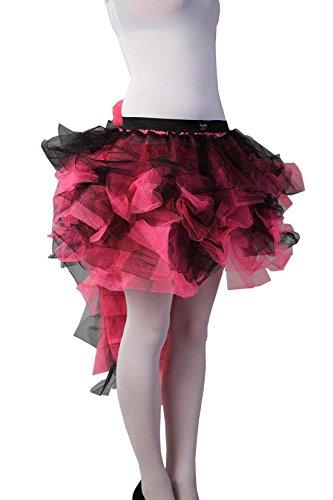 Islander Size Burlesque Tutu Jupe One Midi Femmes Jupe Queue Black Fashions Night Longue Pink Party Dames Poule Porter rWOZpxr