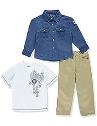 """Quad Seven Little Boys' """"Grade A"""" 3-Piece Outfit"""