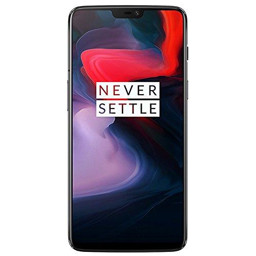 OnePlus 6 A6003 Dual-SIM (128GB Storage | 8GB RAM) Factory Unlocked 4G Smartphone (Midnight Black) - International Version