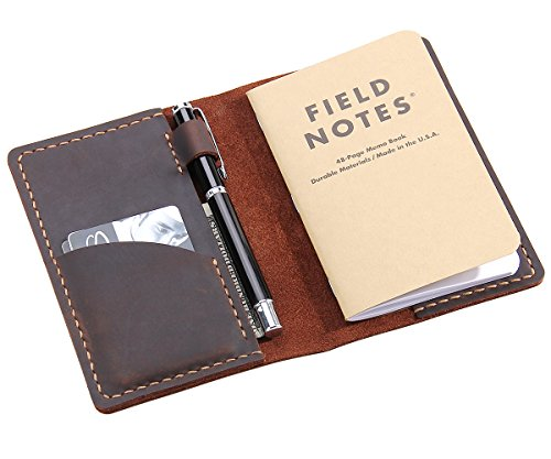field notes cover leather