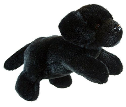 The Puppet Company Full-Bodied Animal  Hand Puppets Labrador (Black)