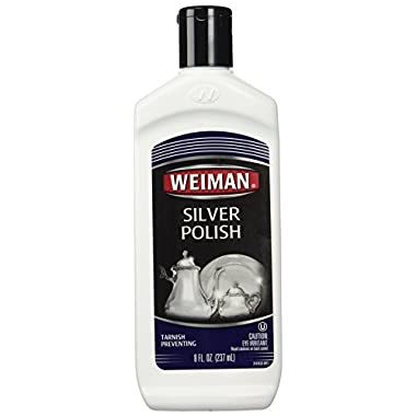 Weiman Royal Sterling Silver Polish 8oz bottle