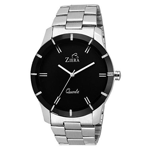 Ziera ZR7004 Silver Analog Watch   for Men