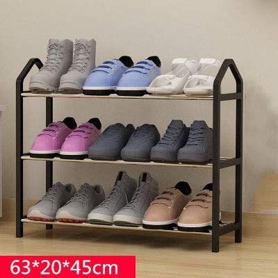 Amazon Com Shoe Cabinets Multi Layers Metal Iron Simple