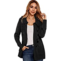 Ybenlow Womens Button Down Cardigan Sweaters with Pockets