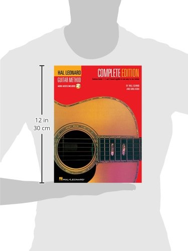 Large Product Image of Hal Leonard Guitar Method, Complete Edition: Books 1, 2 and 3