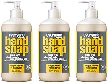3-Pack Everyone Meyer Lemon and Mandarin Hand Soap, 12.75 Fl Oz