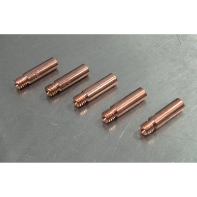 Klutch Contact Tips - 5-Pack.023in, Tweco Style 1