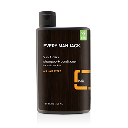 Every Man Jack Body Wash (Every Man Jack 2-In-1 Daily Shampoo Plus Conditioner, Citrus, 13.5 Fluid Ounce)