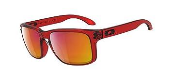 95fdf8565b09 Oakley Herren Sonnenbrille Holbrook, crystal red ruby iridium, OO9102-04