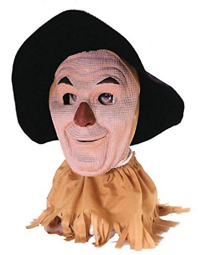 Rubie's Wizard Of Oz Scarecrow Mask, Tan, Adult (Latex Scarecrow Mask)