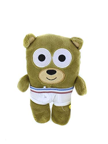 Tighty Whitey Toys Adorable Bear in Underwear 8 Inches Plush Stuffed Animal Toy for Babies Cute Present for Holidays, Birthday, Valentines Day, Party Favors (Bear-Teddy) ()