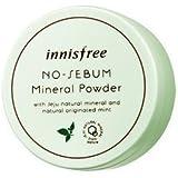 innisfree イニスフリー ノー・シーバム・ミネラル・パウダー・ミント 5g (No Sebum Mineral Powder Originated Mint) 海外直送品