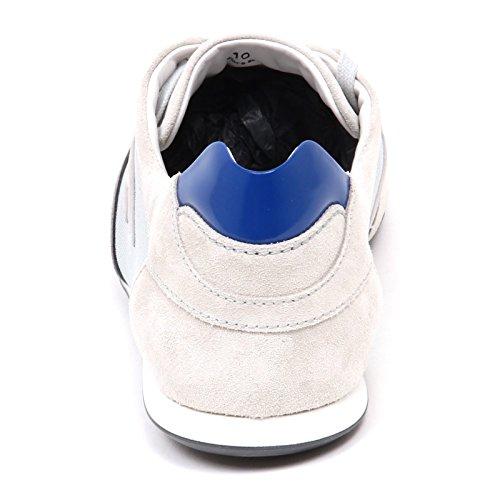 Shoe Chiaro Grey E3050 Man Sneaker Flock H Grigio Olympia Slash Uomo AqZRW1x