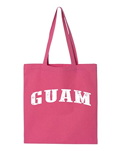 Ugo GU Guam Flag Hagatna Dededo Travel Map Home of University of Guam UOG Tote Handbags Bags Work School - Shops Outlet Vegas In Las