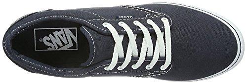 Varevogne Kvinders Atwood Lav Mode Sneakers Sko Flåde Blå / Hvid HA6MW