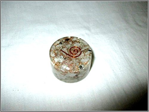 Jet Rainbow Moonstone Orgone Tower Buster Piezo Electric EMF Protection Generator Frequency Ions Tested Cloud Chem Buster