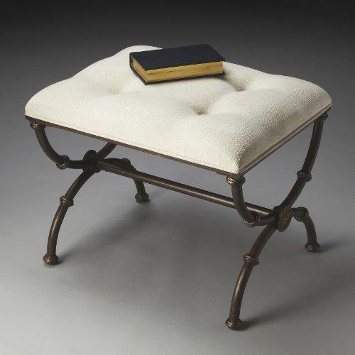 Accent Furniture - Lafayette Vanity Seat - Vanity Bench - Vanity -