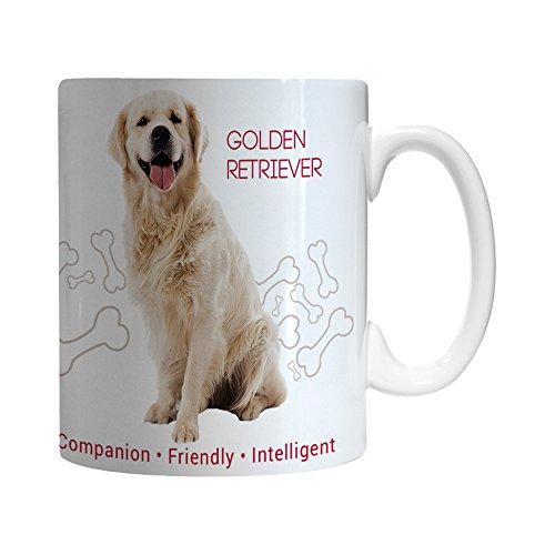 Boelter Brands Golden Retriever Ceramic Mug, ()
