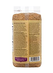 Bob\'s Red Mill Organic Raw Whole Golden Flaxseeds, 24 Ounce (Pack of 4) (Package May Vary)
