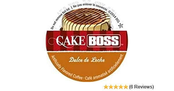 Cake Boss Coffee - Dulce de Leche - 48 Single Serve K Cups for Keurig Brewers: Amazon.com: Grocery & Gourmet Food