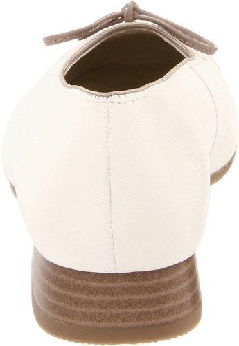 Leather Flat White Ballet ARA Bel Off Tan Women's xBwRgYS