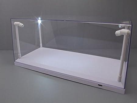 Klarsichtbox Vitrine Mit Led Beleuchtung Weiss Fur 1 18 Modellautos